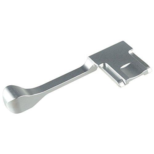 DSLRKIT Long Thumbs Up Grip for Micro DSLR Camera Fuji X-M1/X-A2/X-A1/X-100T/X-30 (Silver)