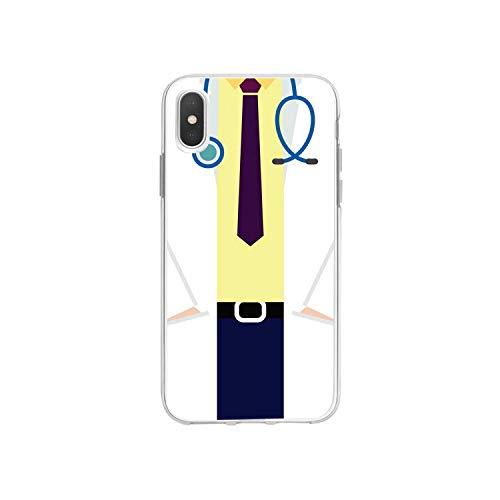 Funda de silicona suave para iPhone 8 7 Plus Cute Doctor Nurse Medicine Health Case para iPhone XR 6 6S Plus SE XS MAX-A203813-para iPhone 11