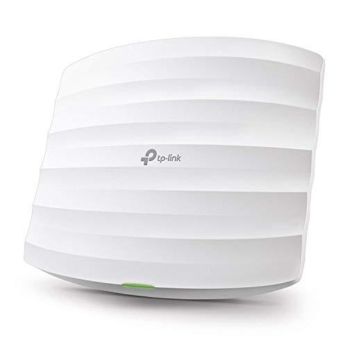 TP-Link EAP245 AC1750 WLAN Access Point (Dualband 1750 Mbit/s mit MU-MIMO, Omada SDN, zentrales Management, professionelles Mesh WLAN, passend für Wand- und Deckenmontage, unterstützt 802.3af PoE)weiß