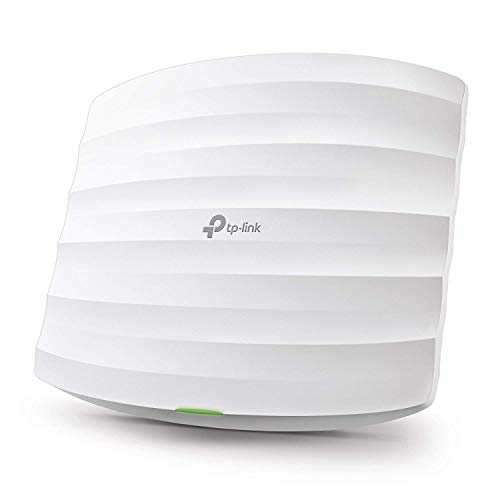 TP-Link EAP245 Access Point Wireless Wi-Fi 802.11ac AC1750 Dual Band, Supporto PoE 802.3af, 2 Porte Gigabit, Tecnologia 3x3 MIMO, Connessioni Multi-Di
