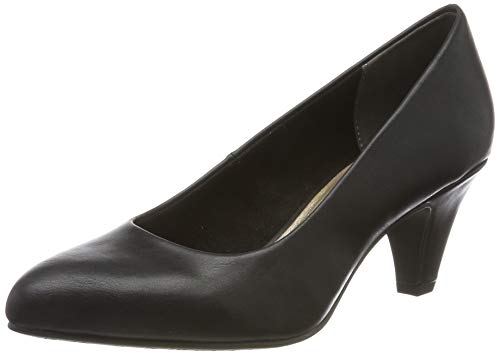 Tamaris Damen 1-1-22416-23 Pumps, Schwarz (Black MATT 20), 39 EU