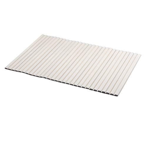 Gxfeng Bacs de baignoire Pliantes anti-poussière Plinthes isolantes Plaque de support de support de douche, plastique, blanc (Size : 140x70cm)