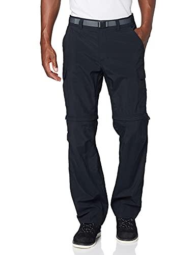 Columbia Cascades Explorer Pants Pantalones de senderismo, Hombre, Black, 32W / 32L