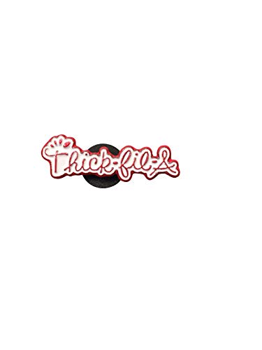 THICK-FIL-A Enamel Pin | Enamel Pins for Backpacks, Hat pins, Meme Pins, Cool Pins, Cute Pins, Button Pins (Red text)