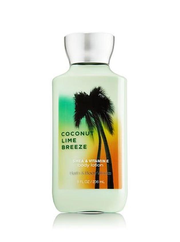 メモキノコふけるバス&ボディワークス ココナッツライムブリーズ ボディローション Coconut Lime Breeze Body Lotion [並行輸入品]