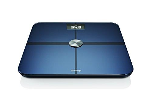 Withings スマート体重計 Smart Body Analyzer WS-50 ブラック Wi-Fi/Bluetooth対応【日本正規代理店品】