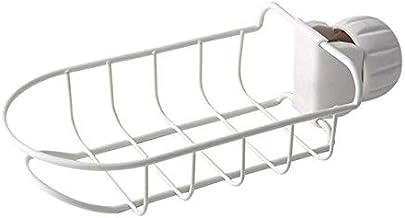 Water Faucet Storage Shelf Kitchen Sundries Adjustable Holder Stainless Steel Sink Sponge Supplies-NO.3
