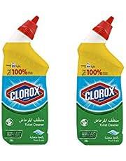 Clorox Toilet Bowl Cleaner, Fresh Scent, 2 x 709 ml