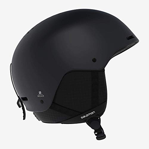 SALOMON Brigade Casco de esquí y Snowboard para Hombre, Carcasa ABS, Interior de Espuma EPS 4D, Circunferencia: 53-56 cm