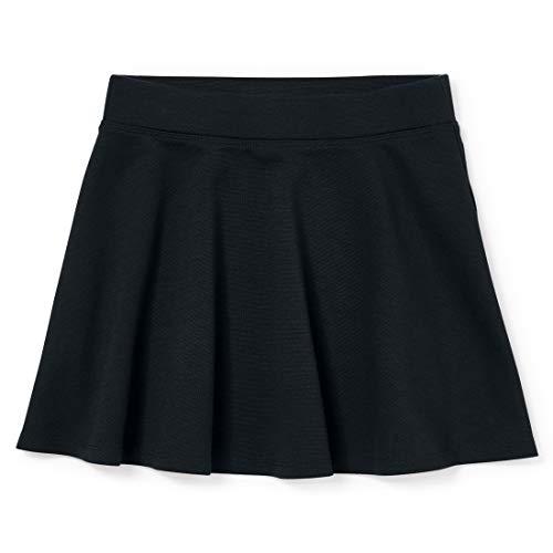 The Children's Place Girls' Uniform Ponte Knit Skort Black M (7/8)