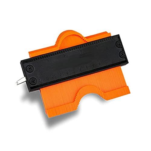 BRAVE 型取りゲージ Sサイズ 125mm コンターゲージ セルフロック付き 高精度 曲線定規 輪郭コピー DIY 測定工具 MV-RINKAGEZI-S