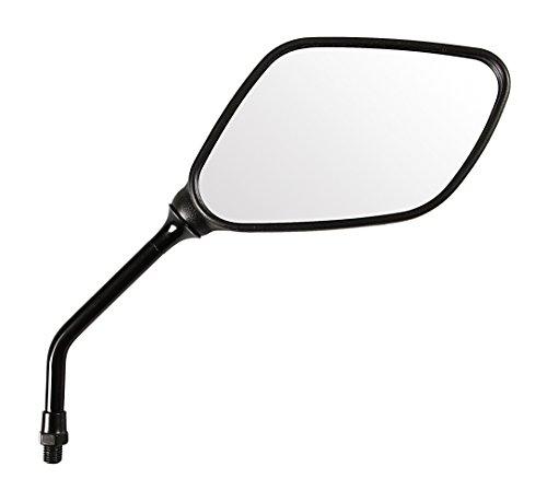 Lampa 90080 - Par con 2 espejos retrovisores homologados para moto, space, rosca 10 mm, ajustables, rosca a derecha M10 x 1,25