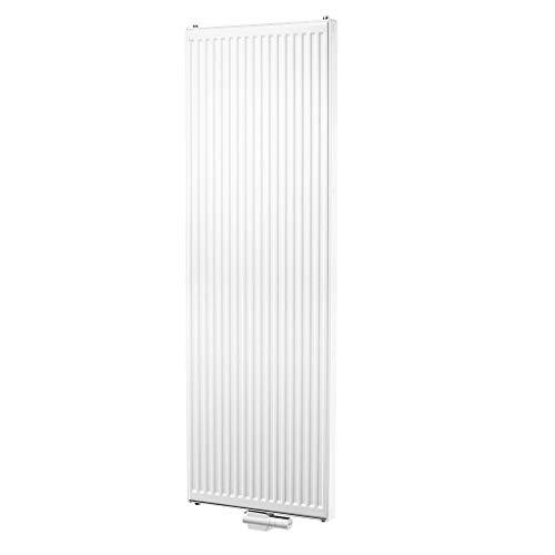 Buderus Verticale radiator CV-Plan Type 22 Hoogte 2000 mm verschillende maten badkamerradiator verwarmingswand paneelradiator 2000 mm x 400 mm