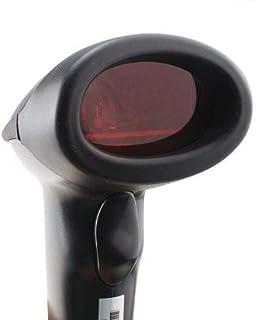 قارئ باركود Wired Handheld USB Automatic Laser Barcode Scanner Reader With USB Cable-Black