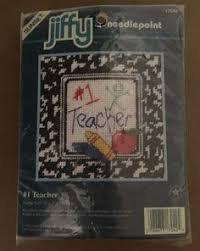 Sunset Jiffy Needlepoint #1 Teacher Kit Frame Size 5' x 5' by Dimensions