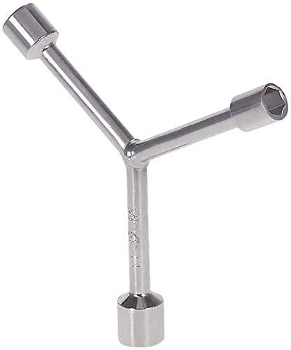 Universele Home Y Type Dopsleutel Handgereedschap Spanner Mouw Metaal 10 MM/12 MM/14 MM Elektrische Gitaar Bas Reparatie Tool (Grootte: 2 Stuks)