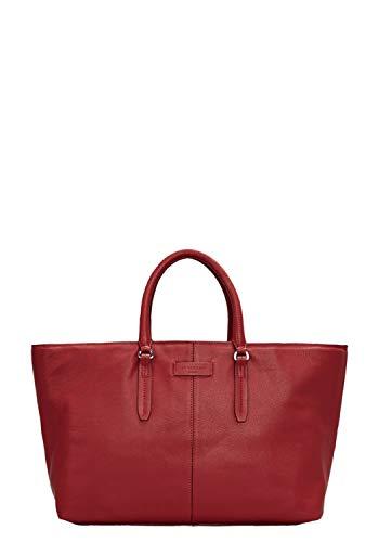 Liebeskind Berlin Damen SatchelLE9-Essent Henkeltasche, Italian red, 14x28x35 cm