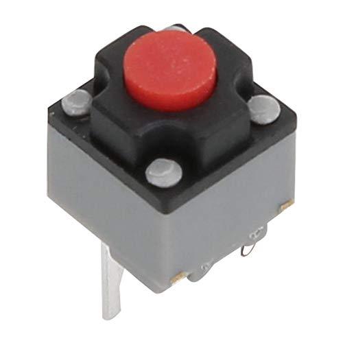 20個6x6x7.3mmの触覚プッシュボタンマイクロスイッチ防水家電製品、セキュリティ機器、玩具、電子製品用瞬間タクトスイッチ