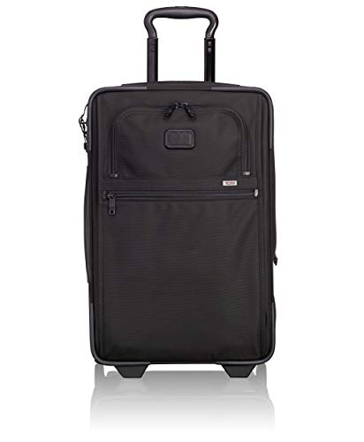 Tumi Alpha 2 International Expandable 2 Wheeled Carry-on 33L, Black, 022020D2