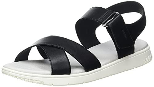 Geox D DANDRA E, Zapatillas Mujer, Negro D15, 40 EU