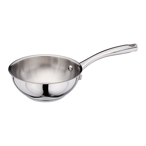 Stellar Speciality Cookware 16cm Stainless Steel Chef's Pan, ALL Hob Types