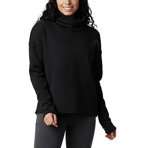 Columbia Chillin Sudadera Polar, Mujer, Negro (Black Thermal), XL