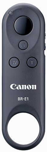 Canon BR-E1 Fernbedienung (NFC, WLAN, Bluetooth, 5 m, geeignet für Power Zoom Adapter PZ-E1) grau