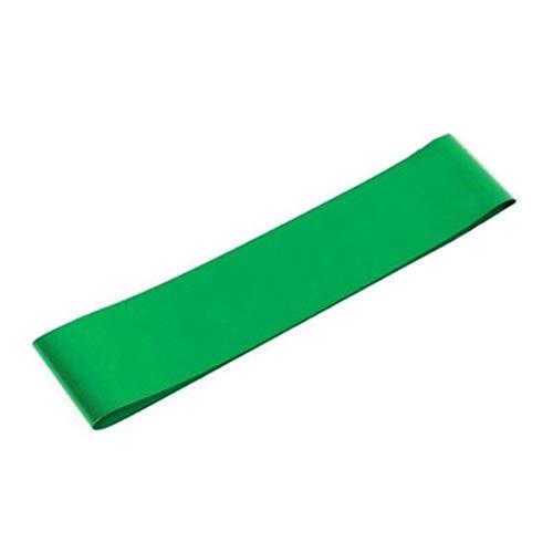 ZHUSHI Bandas Elásticas para Fitness Bandas De Resistencia Ejercicio Gimnasio Entrenamiento De Fuerza Gimnasio Pilates Equipo De Entrenamiento Deportivo (Color : Green)