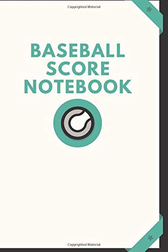 """Baseball Score Notebook: Game Record Book Sheet, Score Keeper, Fouls, Scoring, Free Throws, Running scorebook. Gifts for home and visiting teams, ... 6""""x 9"""", 120 pages. (Baseball Logs, Band 25)"""