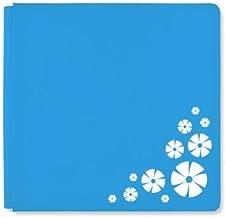 12x12 Blue Scrap Happy 2018 Album Cover by Creative Memories