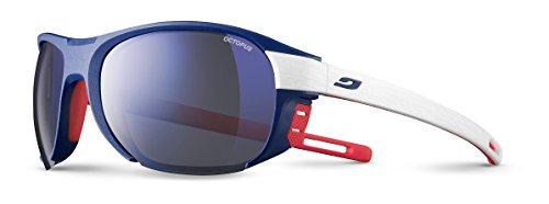 Julbo Regatta Sonnenbrille, Blau/Weiß/Red Groupama, one Size