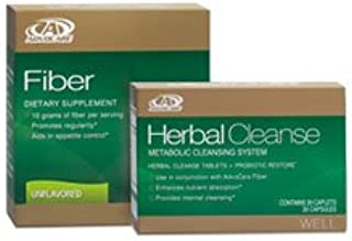 Herbal Cleanse Fiber Advocare 20 Capsules 10 Drink Pouches Unflavored