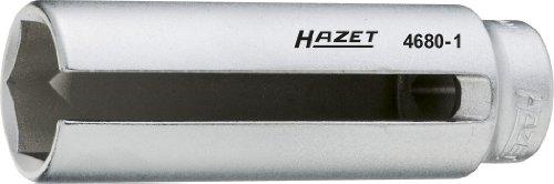 HAZET 4680-1 Lambda-Sonden-Einsatz, s: 22, Innenvierkant 12,5 mm (1/2 Zoll)