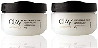 Olay Age Protect Anti - Ageing Cream 40 g (Pack of 2)