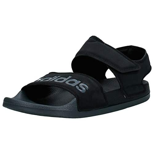 adidas Adilette Sandal, Unisex-Adulto, Negbás/Grisei/Negbás, 32 EU