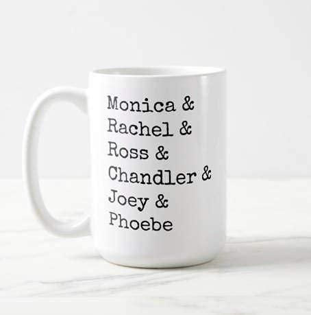 N\A Monica Rachel Ross Chandler Phoebe Friends TV Show Classic TV Mug