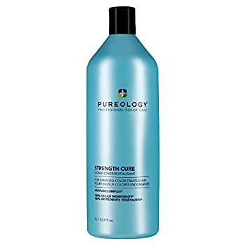 Pureology Strength Cure Strengthening Conditioner for Damaged & Color Treated Hair 33.8 Fl Oz