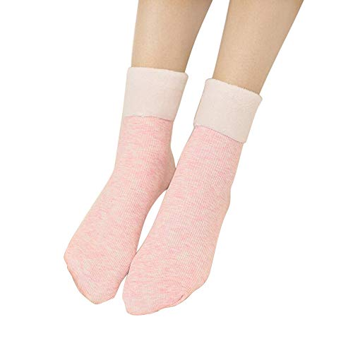 OHQ Damen Fein Kniestrümpfe mit Stützfunktion Sneaker Socken Cotton Classic Sportsocken Mückenschutz Socken Kniestrümpfe Knie Seidenfein Wollsocken Stricksocken Winter Damensocken Thermosocken