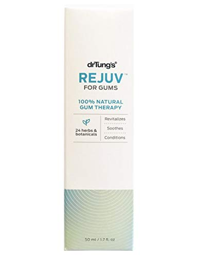 DrTung's REJUV for Gums - Natural Formula for Healthy Gums, 24 Herbs and botanicals, 1.7 Ounce