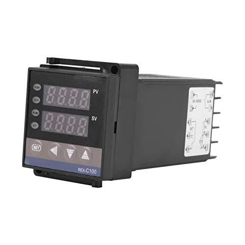 Durlclth Termostato PID Digital-Termostato Controlador de Temperatura PID Digital Termopar REX-C100