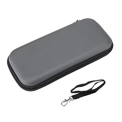 Socobeta Bolsa de Transporte Dura Resistente a los arañazos con cordón Estuche de Almacenamiento Tela de Franela Suave portátil para Consola Switch Lite(Gray)