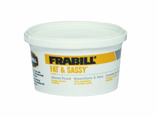 Frabill Fat & Sassy Worm Food   Specially Formulated Worm Food for Large Healthy Worms