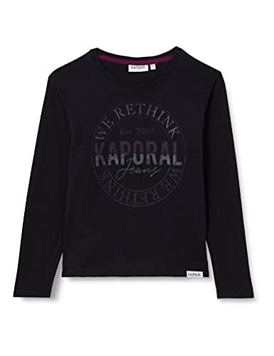 Kaporal Juba T-Shirt, Black, 10 Ans Garçon