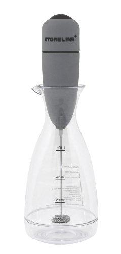 STONELINE® Milchaufschäumer mit praktischem Messbecher, auch für Salatdressings geeignet