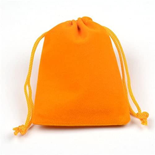 LINPO 7x9 9x12 10x14 13x18 15x20cm Multicolor Bolsa de Regalo Bolsa de Embalaje de Joyería Bolsa de Navidad Boda Candy Chocolate Bolsas 10pcs/lot
