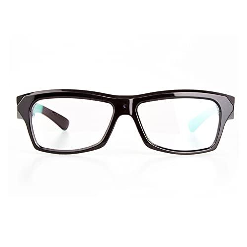 Gafas inteligentes, HD Micro de micro gafas Cámara 1080P Ciclismo adulto Deporte Grabador de video con mini cámara digital Camcorder Support Tarjeta SD ( Bundle : With 16GB SD Card , Color : Black )