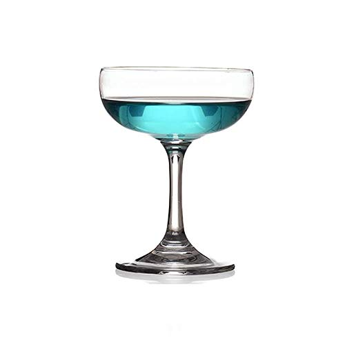 G.TZ-Wine Glass Bicchieri di Vino Creativo Bicchieri di Champagne/Bicchiere da Vino Rosso O Bianco Bicchiere da Cocktail - Bicchieri Calice di Cristallo 100% Senza Piombo - 220ML