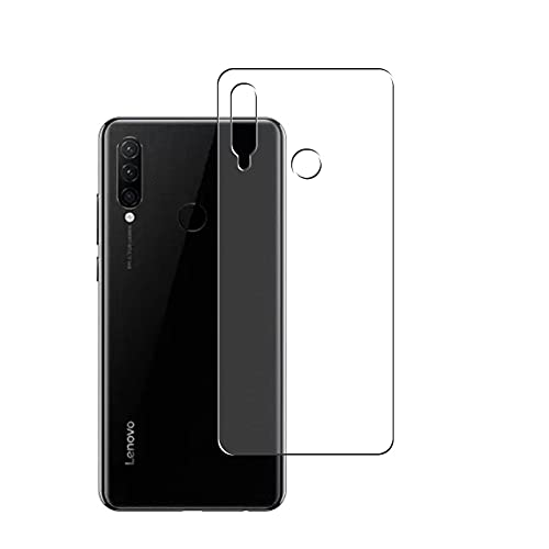 Vaxson 2-Pack Back Protector Film, compatible with Lenovo K10 Note, TPU Guard Cover Skin [Not Tempered Glass/Not Front Screen Protectors]