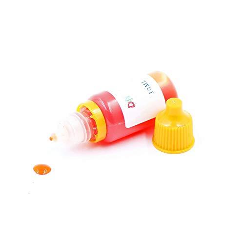 Tinte Naranja para fabricación de jabones