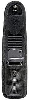 Bianchi Accumold 7307 Pepper OC Spray Black Pouch Hidden Snap